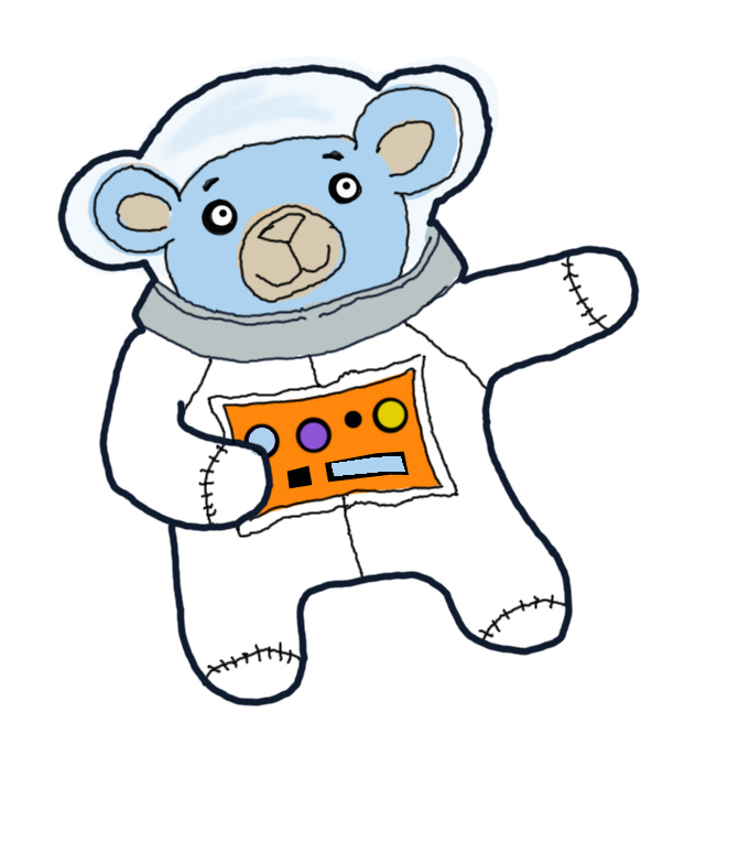 space bear copy